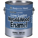 363 metal wood enamel