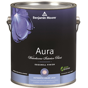 524 Aura® Interior Eggshell Finish