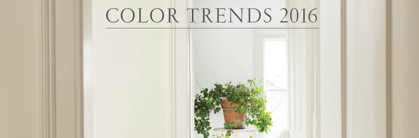 Цветовые тенденции 2016 года