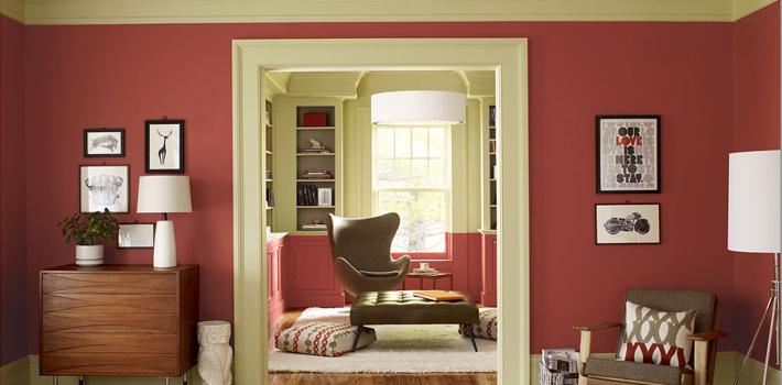 Красный для любой комнаты