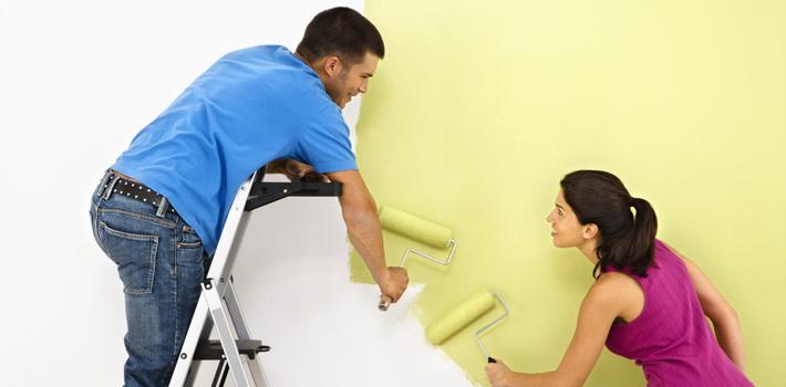 Как подготовит стены и потолок к покраске