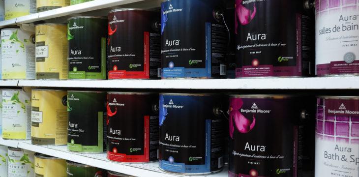 Серия красок Aura