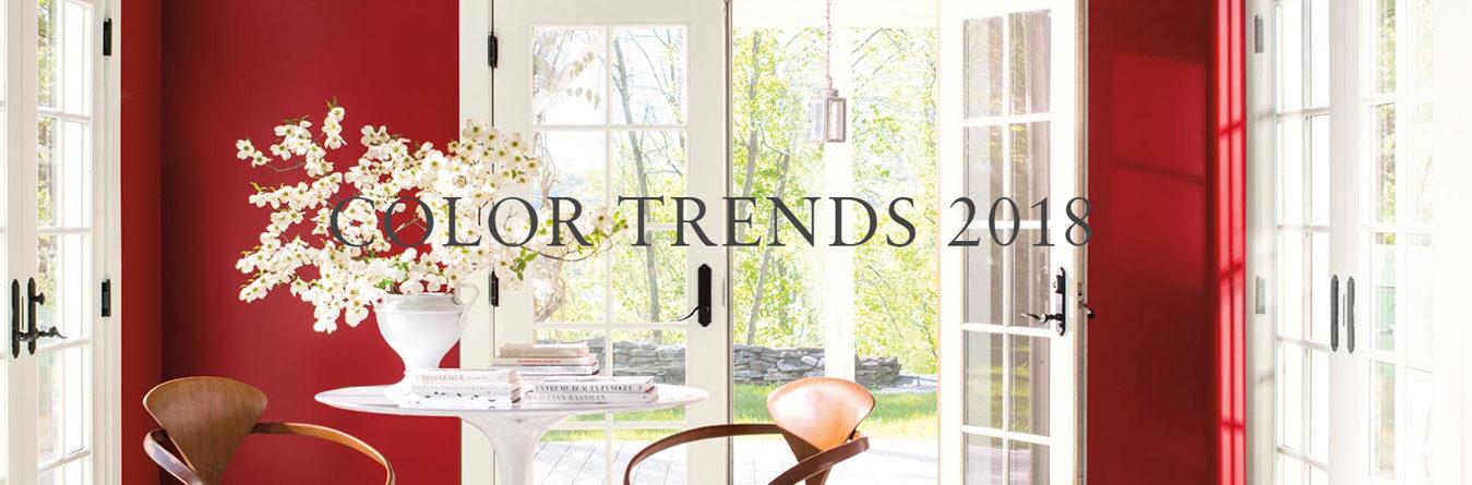 Цветовые тенденции 2018 года